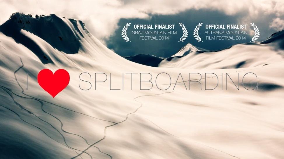 i love splitboarding