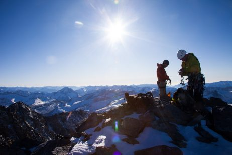 Location: Split Mountain - Sierra Nevada Mountains, California - 14058 feet Climber: Jim Barnes & Ryan Boyer