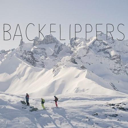 backflippers movie frame for backcountry film festival