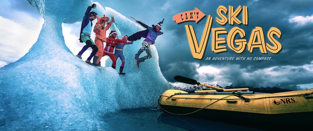 movie poster for Cant Ski Vegas in the Backcountry Film Festival