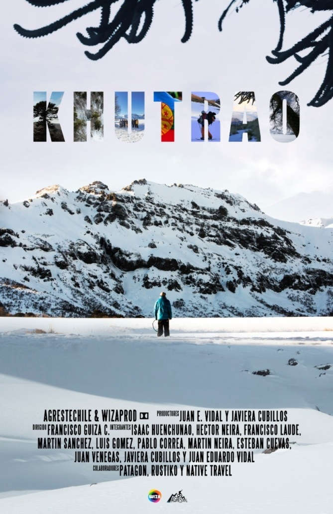 a movie poster for khutrao in the backcountry film festival